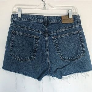 Calvin Klein Jeans Shorts - CK High Waisted Mom Jean Shorts Distressed Cut Off